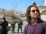 "Dan auf einer ""Breaking the Silence""-Tour in Hebron, 10.13, Maria"